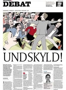 Interview: Undskyld! Politiken 2014-12-06